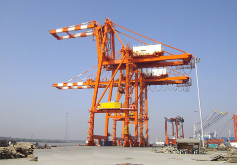 Container Crane (Rail Mounted Quay Crane, RMQC, QC)