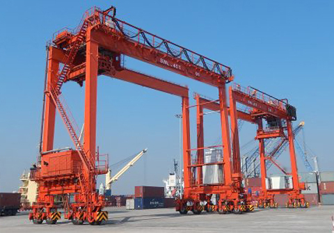 Rubber Tire Gantry Crane RTG (Transfer Crane)