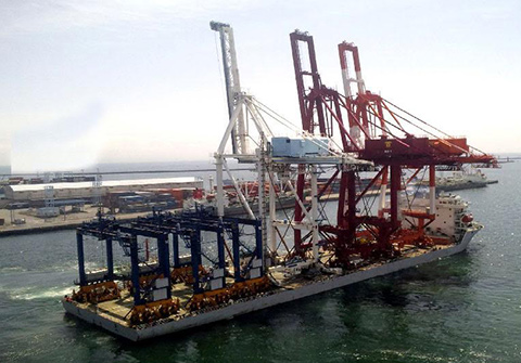 Container crane supply